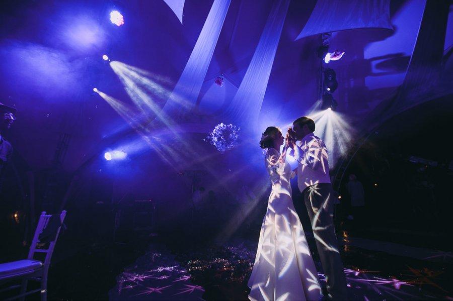 Освещение свадебного зала