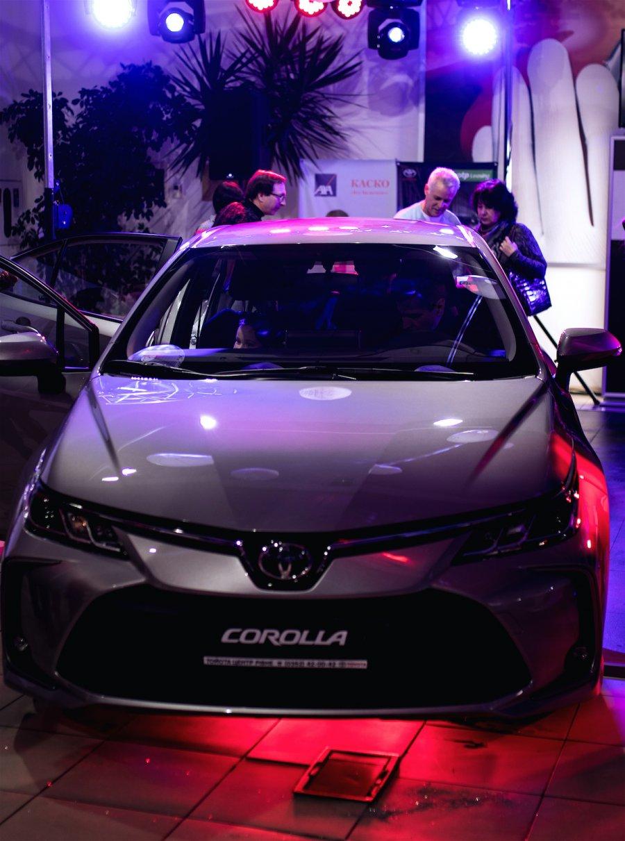 Презентація Toyota Corolla в Рівному