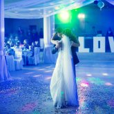 STAGE AND SPECIAL EFFECTS FOR WEDDING